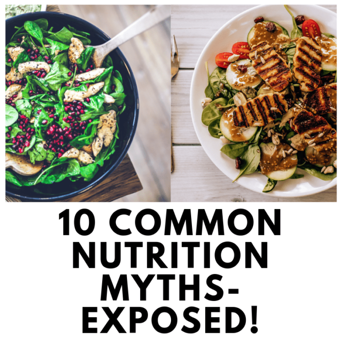 10 Common Food Myths Exposed!
