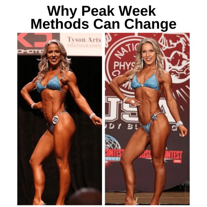 Why Peak Week Methods Can Change