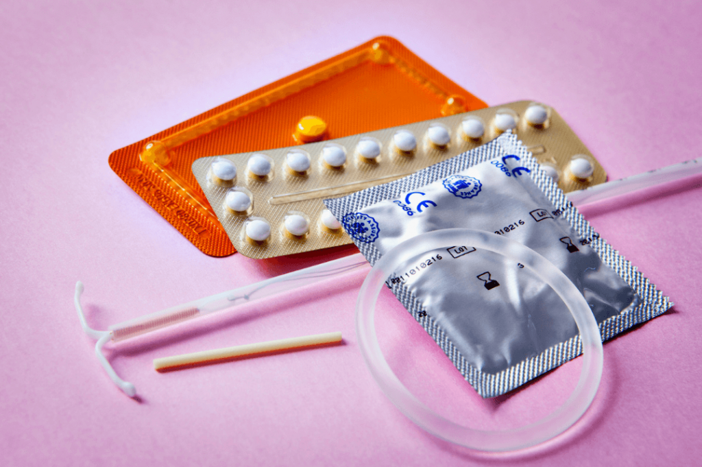 birth control options with pill condom IUD vaginal ring and implant