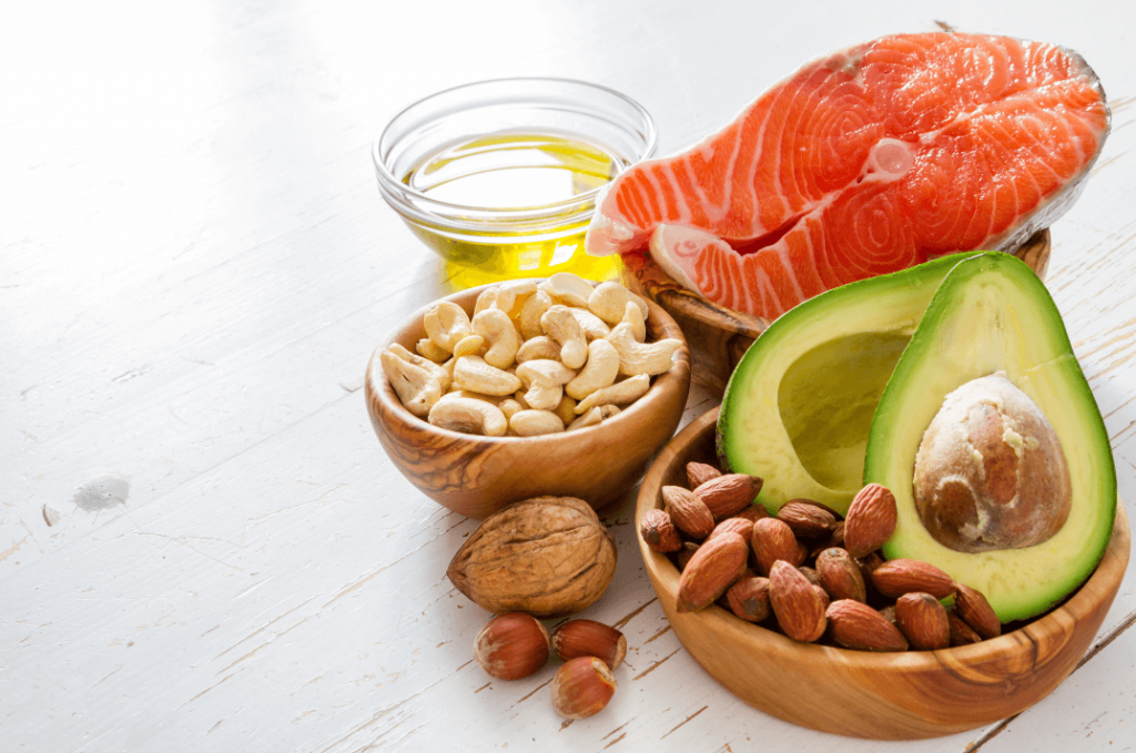 foods full of healthy fats
